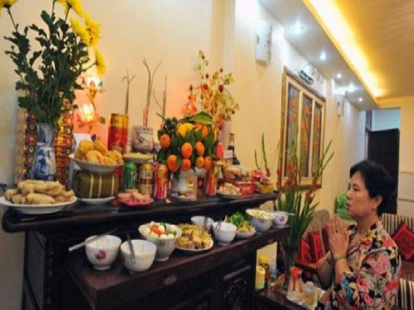 Văn khấn mùng 1 Tết cổ truyền Việt Nam tại nhà